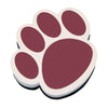 Magnetic Whiteboard Eraser, Maroon Paw - Item 4SS-ASH10012