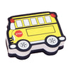 Magnetic Whiteboard Eraser, School Bus, Pack Of 6 - Item 4SS-ASH10018BN
