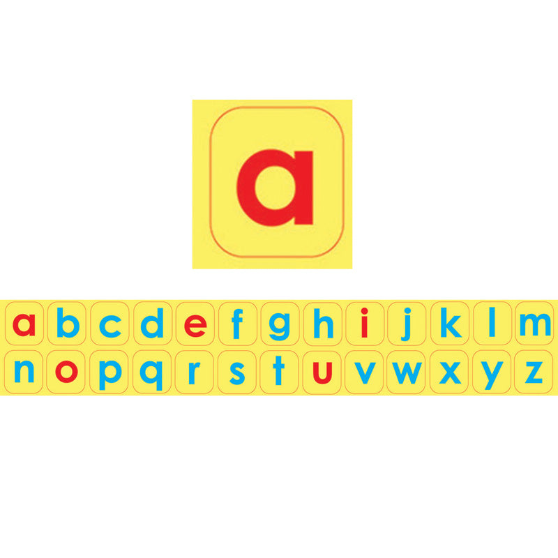 Die-Cut Magnetic Foam Lowercase Letters, 104 Pieces - Item 4SS-ASH40001