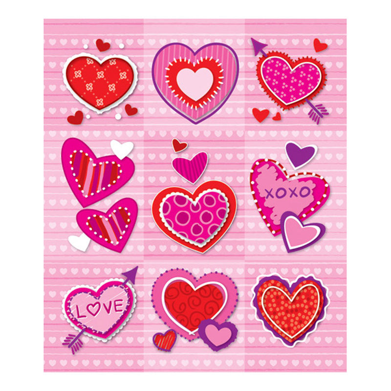 Valentines Prize Pack Stickers, 216 Stickers - Item 4SS-CD-168046