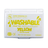 Washable Stamp Pad, Yellow, Set Of 6 - Item 4SS-CE-501BN
