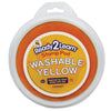 Ready2Learn Circular Jumbo Washable Stamp Pad, Yellow - Item 4SS-CE-6601