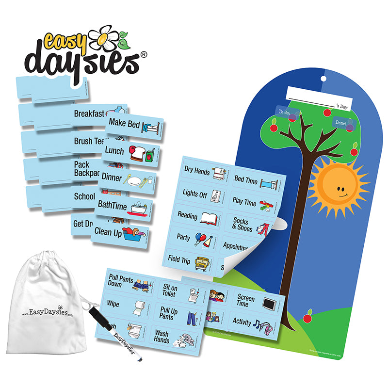 """My Day"" Preschooler/Kindergartener Daily Visual Schedule - Item 4SS-ESD018"