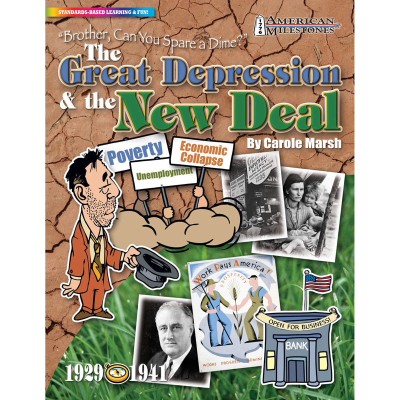 """Brother, Can You Spare A Dime?"": The Great Depression & The New Deal - Item 4SS-GAL0635026929"