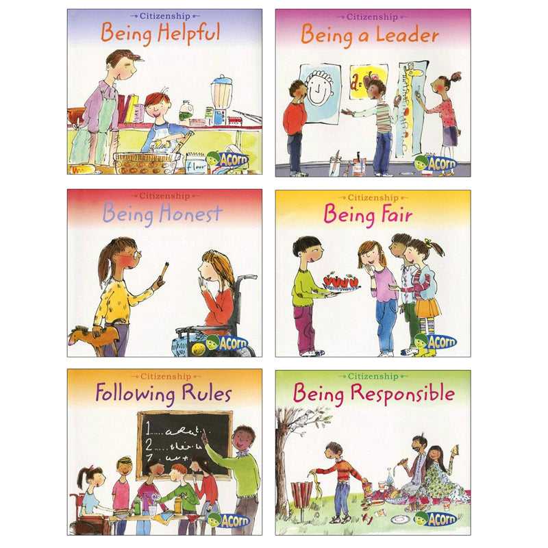 Citizenship Book Set, Set Of 6 - Item 4SS-HE-9781403494986