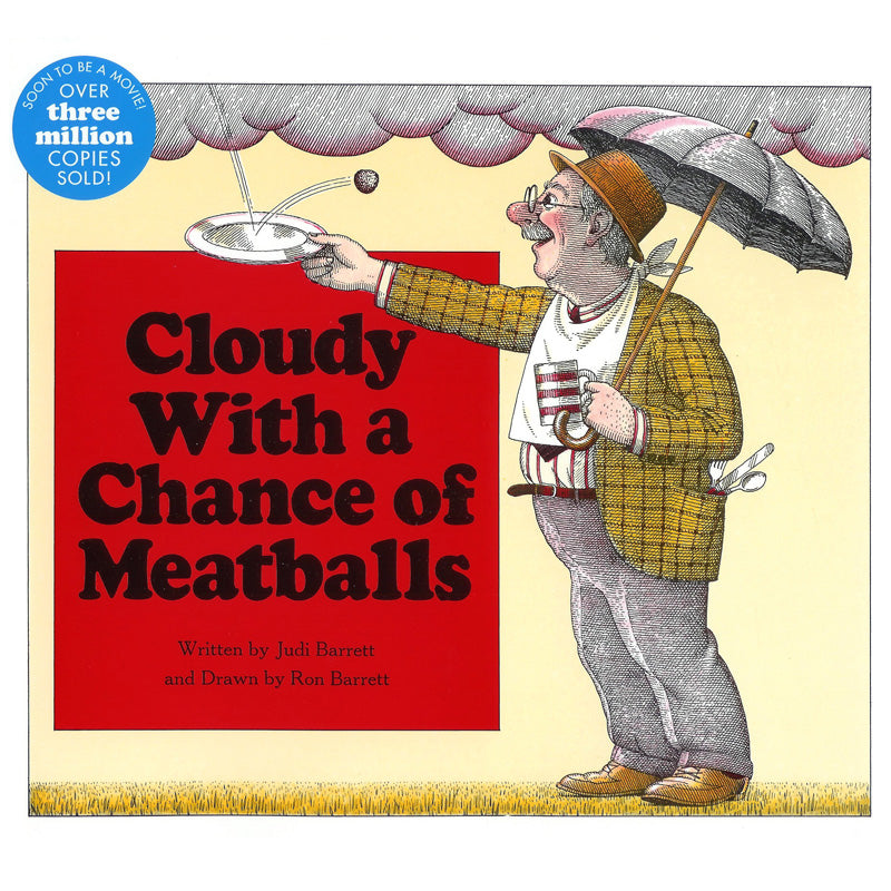 Cloudy With A Chance Of Meatballs Book - Item 4SS-ING0689707495