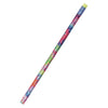 (12 Dz) Decorated Pencils Tie Dye Glitz 1Dz Asst - Item 4SS-JRM2050BBN