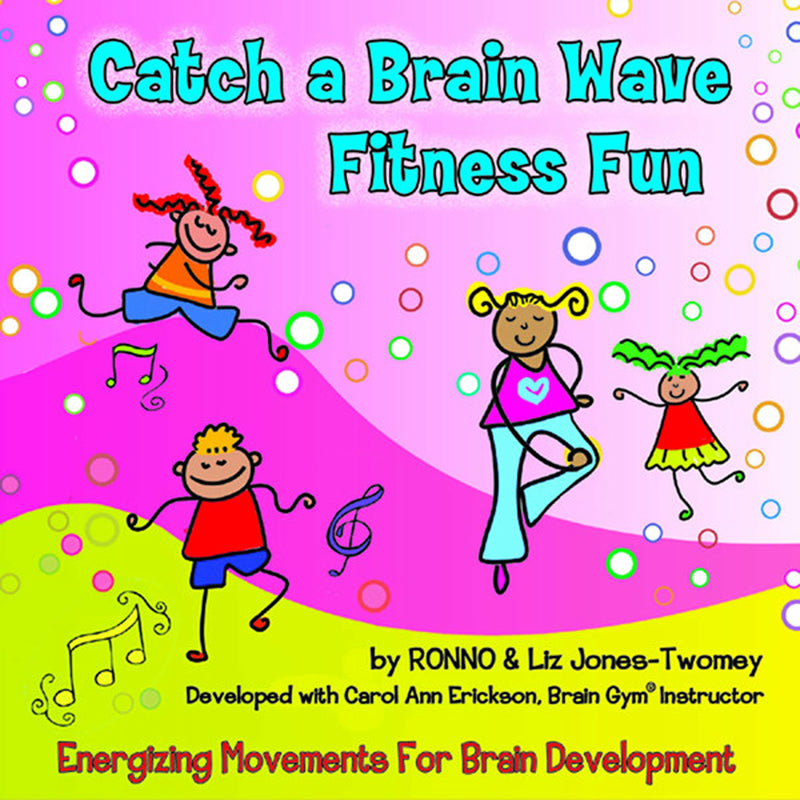 """Catch A Brain Wave"" Fitness Fun Cd - Item 4SS-KIM9191CD"
