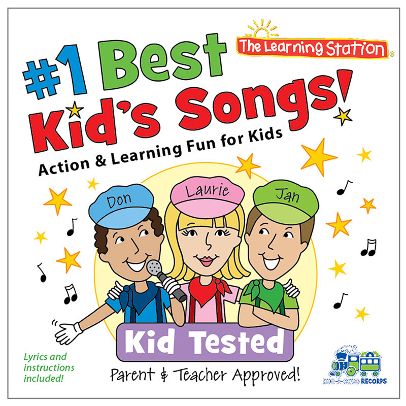 #1 Best Kid'S Songs! Cd - Item 4SS-KIMKUB1900CD