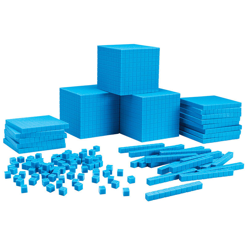 Blue Plastic Base Ten Class Set - Item 4SS-LER0932