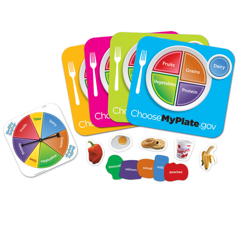 Healthy Helpings Myplate Game - Item 4SS-LER2395