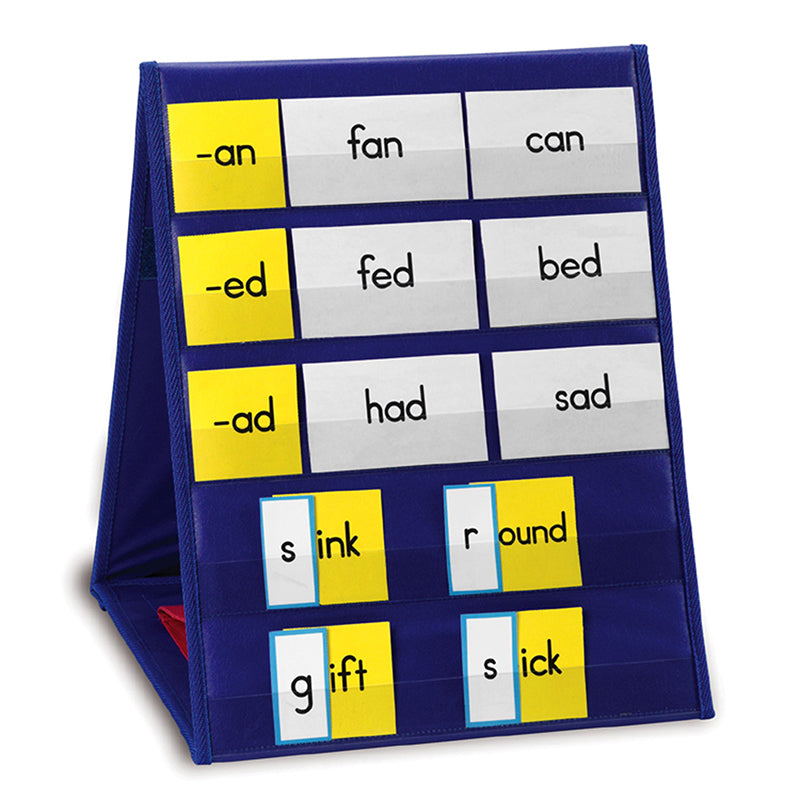 Double-Sided Tabletop Pocket Chart - Item 4SS-LER2523