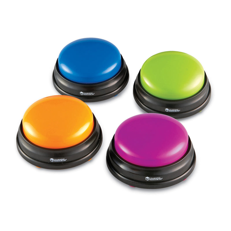 Answer Game Show Buzzers, 4/Pkg - Item 4SS-LER3774
