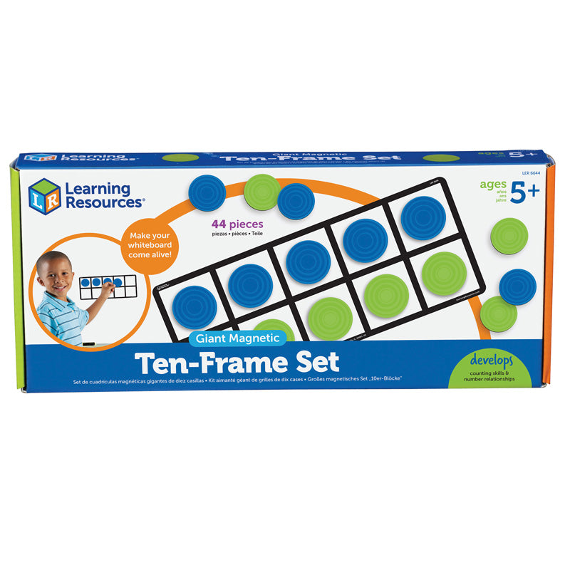 Giant Magnetic Ten-Frame Set - Item 4SS-LER6644