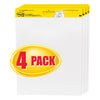 "Easel Pad, 25"" X 30"", Self Stick Sheets, 30 Sheets/Pad, Pack Of 4 - Item 4SS-MMM559VAD4PK"