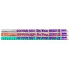 (12 Dz) Do Your Best On The Test Motivational Fun Pencils 12 Per Pk - Item 4SS-MUS1536DBN
