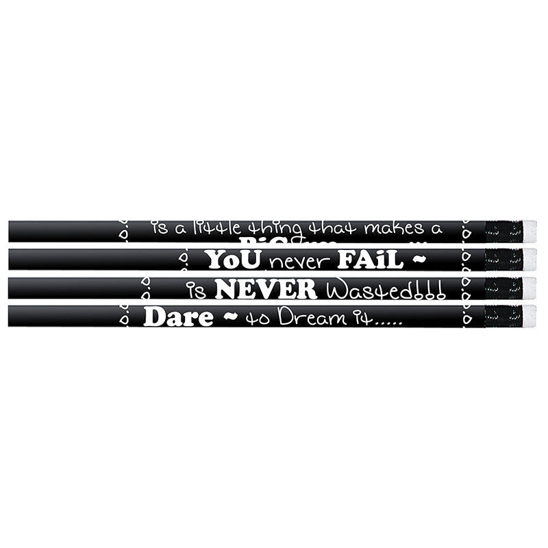 (12 Dz) Chalkboard Talk Pencil 12 Per Pk - Item 4SS-MUS2547DBN