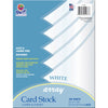 "Card Stock, Classic White, 8-1/2"" X 11"", 100 Sheets - Item 4SS-PAC101188"