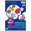 "Fingerpaint Paper, White, 11"" X 16"", 50 Sheets Per Pack, 6 Packs - Item 4SS-PAC73610BN"