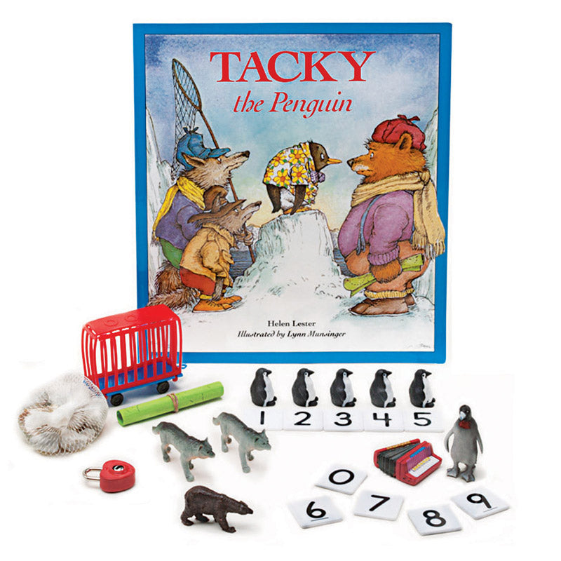 Tacky The Penguin 3-D Storybook - Item 4SS-PC-1558