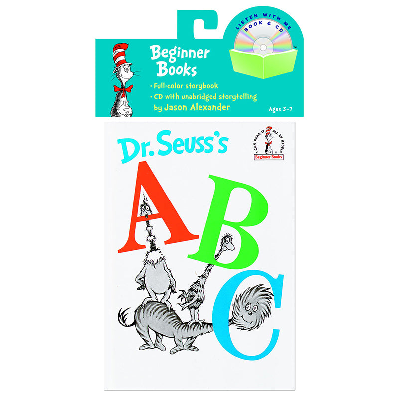 Carry Along Book & Cd, Dr. Seuss'S Abc - Item 4SS-RH-9780375834967