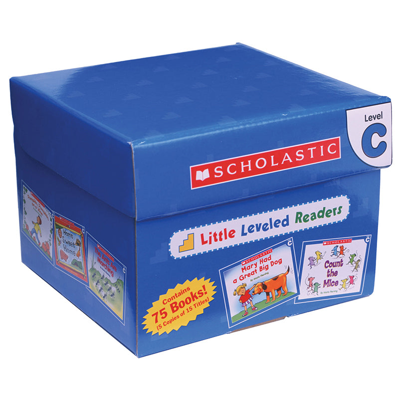 Scholastic Little Leveled Readers Set, Level C - Item 4SS-SC-0545067723