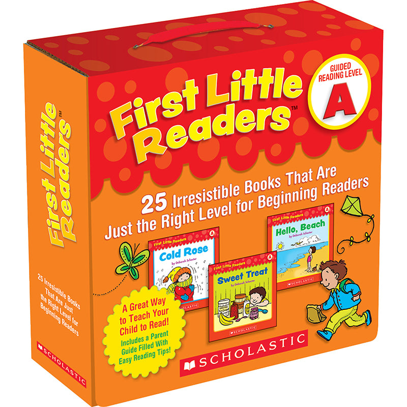 First Little Readers Parent Pack, Level A - Item 4SS-SC-523149