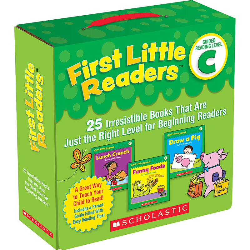 First Little Readers Parent Pack, Level C - Item 4SS-SC-523151
