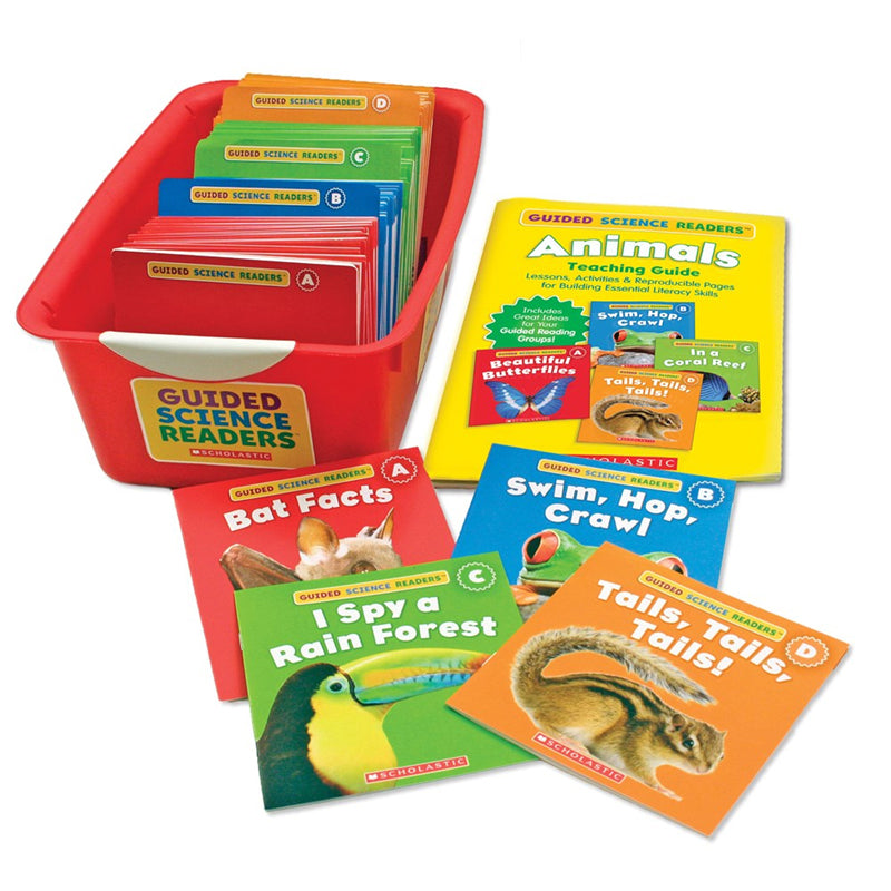 Guided Science Readers Super Animals Book Set, Grade K-1 - Item 4SS-SC-544272