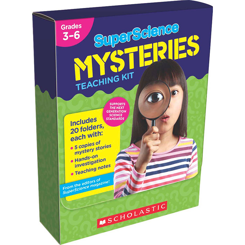 Superscience Mysteries Teaching Kit - Item 4SS-SC-825522