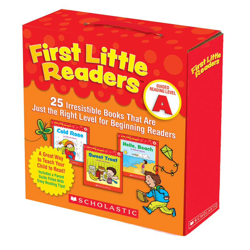 Scholastic First Little Readers Book Parent Pack, Guided Reading Level A, Set Of 25 Books - Item 4SS-SC-9780545231497