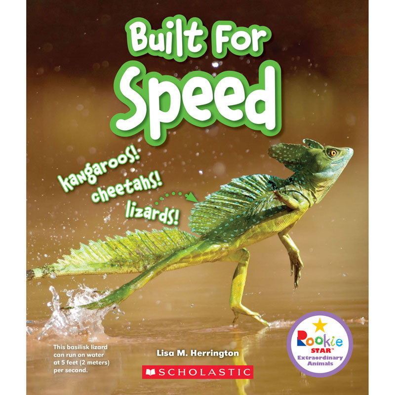 Built For Speed Book - Item 4SS-SC-ZCS670771
