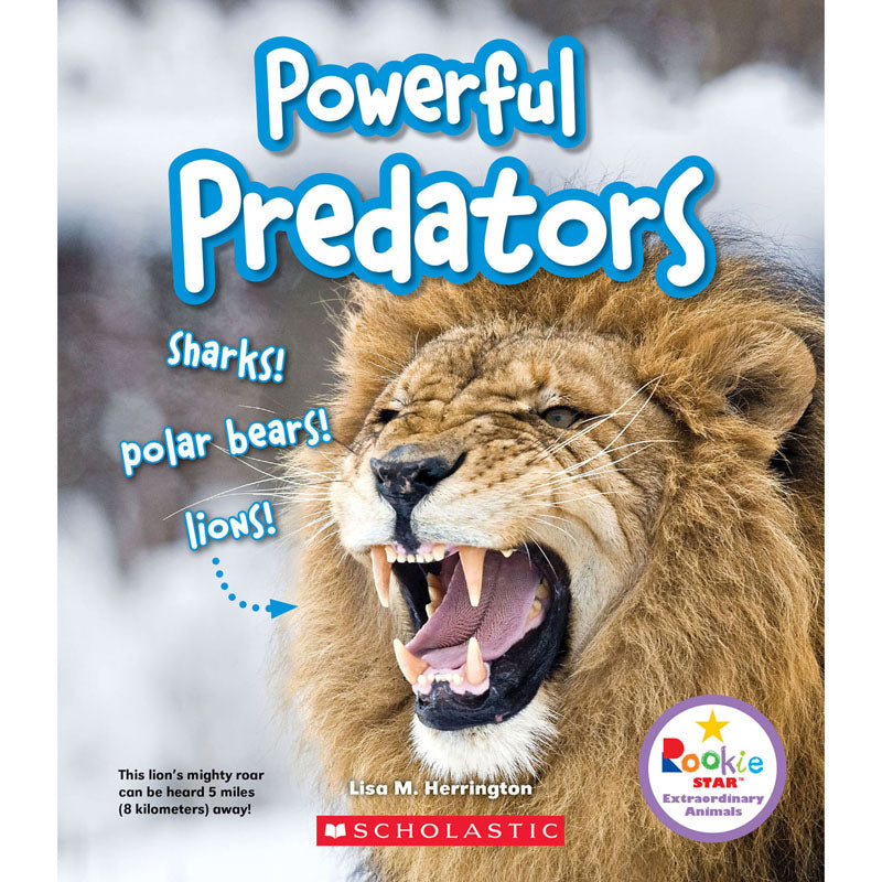 Powerful Predators Book - Item 4SS-SC-ZCS670774
