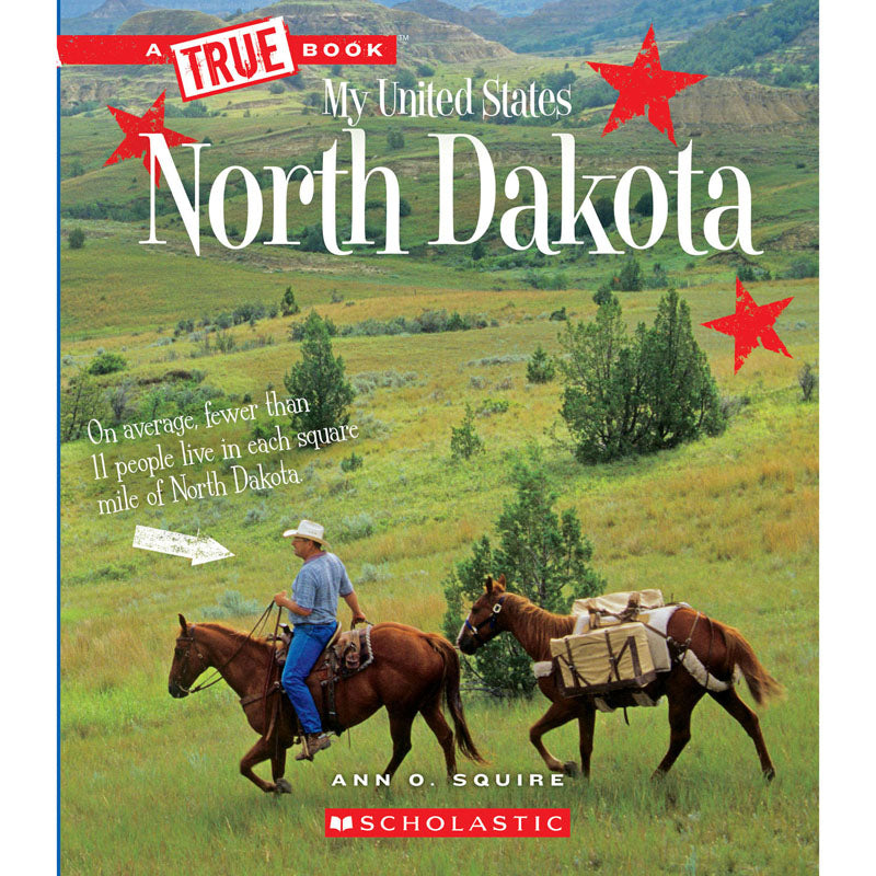 My United States Book North Dakota - Item 4SS-SC-ZCS674186