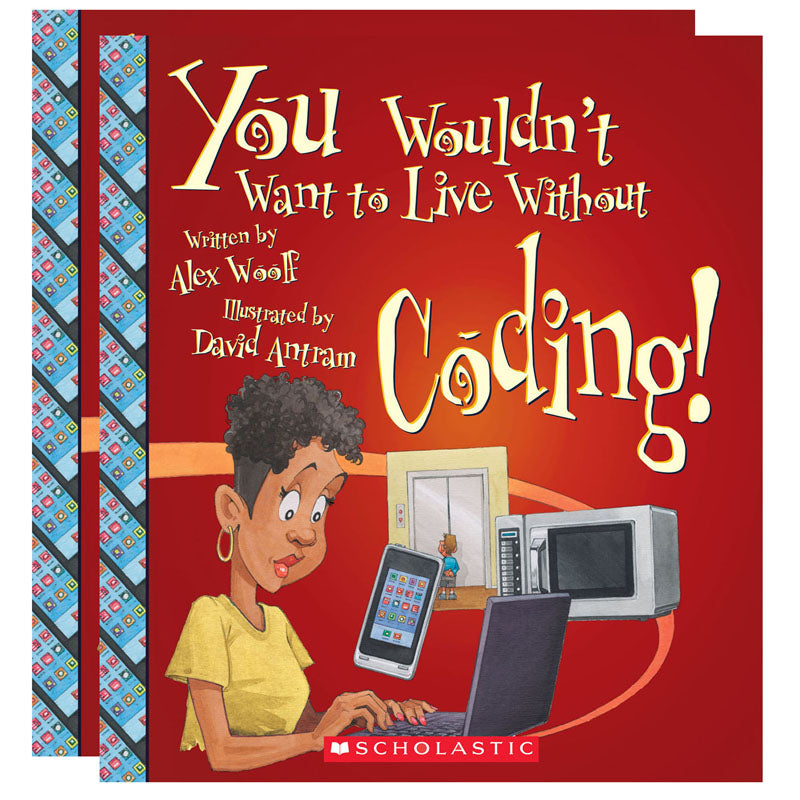 You Wouldn'T Want To Live Without Book Coding, Pack Of 2 - Item 4SS-SC-ZCS675849BN