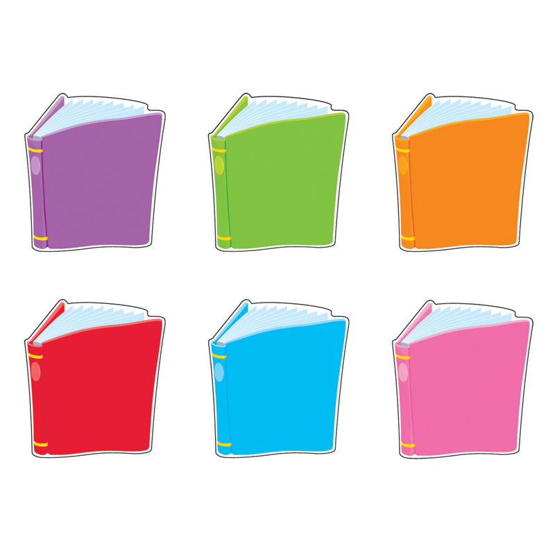 Bright Books Mini Accents Variety Pack, 36 Per Pack, 6 Packs - Item 4SS-T-10821BN