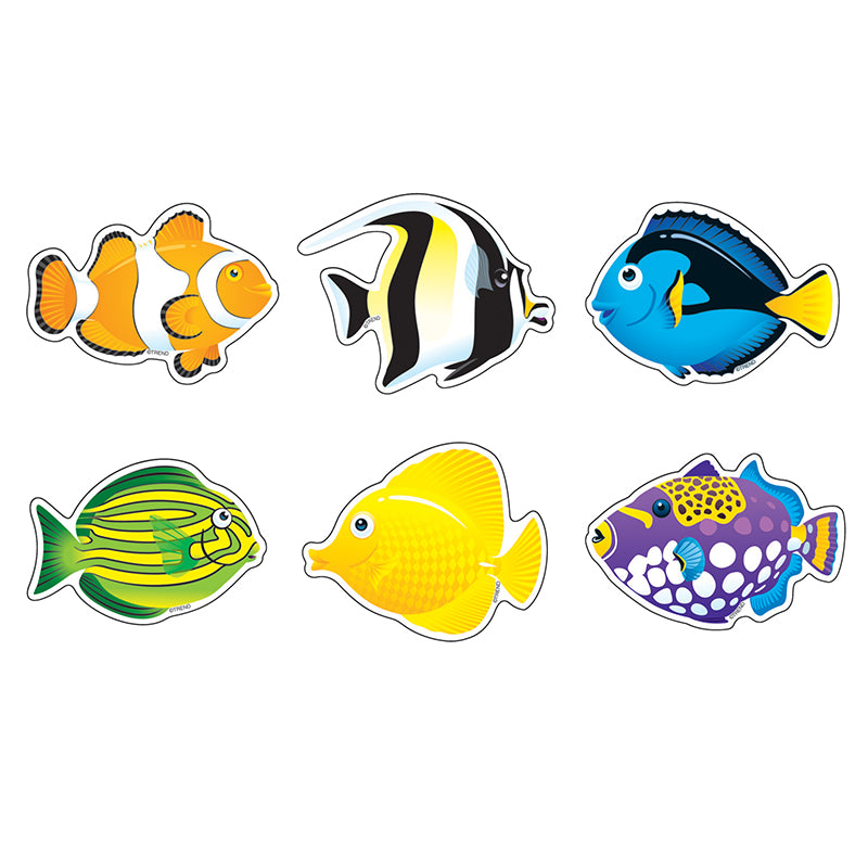 Fish Mini Accents Variety Pack, 36 Per Pack, 6 Packs - Item 4SS-T-10822BN