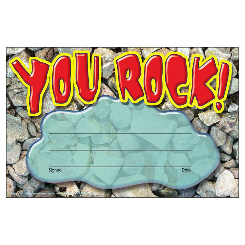 You Rock! Recognition Awards, 30 Ct - Item 4SS-T-81401