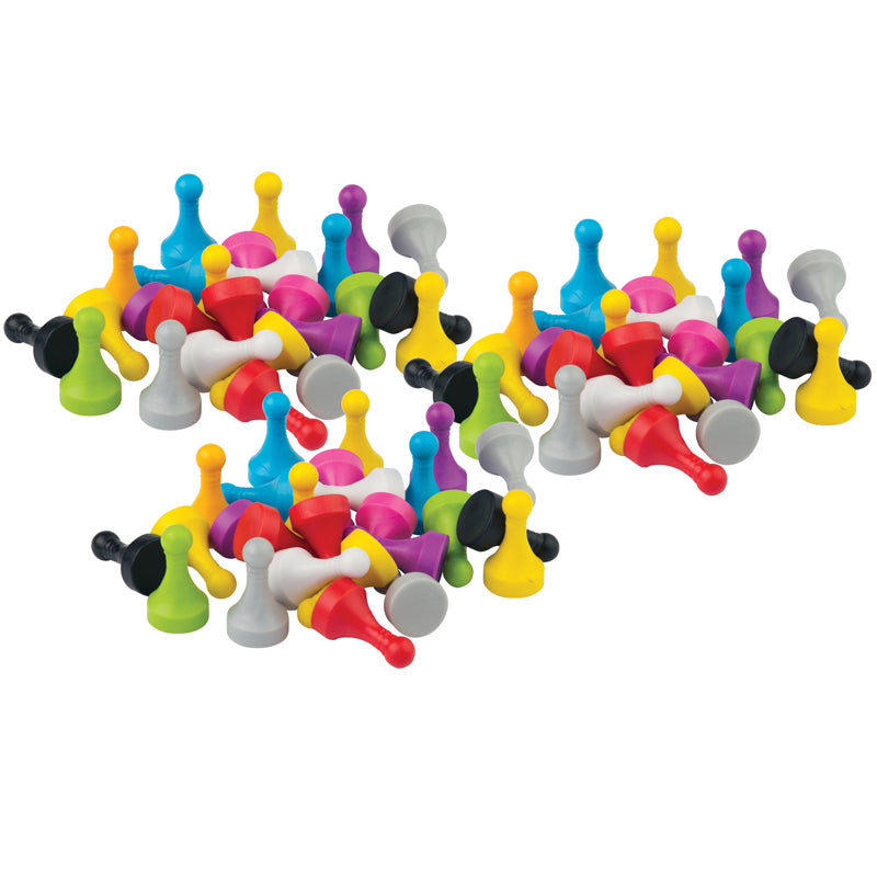 Pawn Game Pieces, 30 Per Pack, 3 Packs - Item 4SS-TCR20701BN