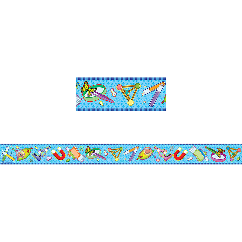 Science Straight Border Trim - Item 4SS-TCR4682