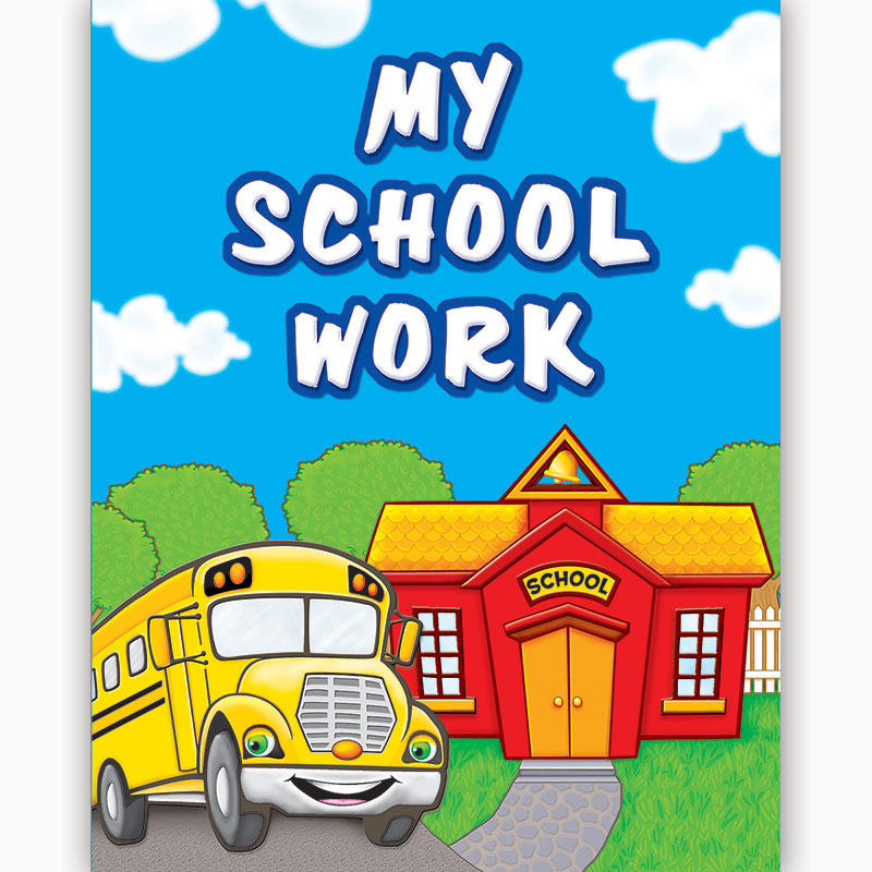 (10 Ea) My School Work Pocket Folder - Item 4SS-TCR4939BN