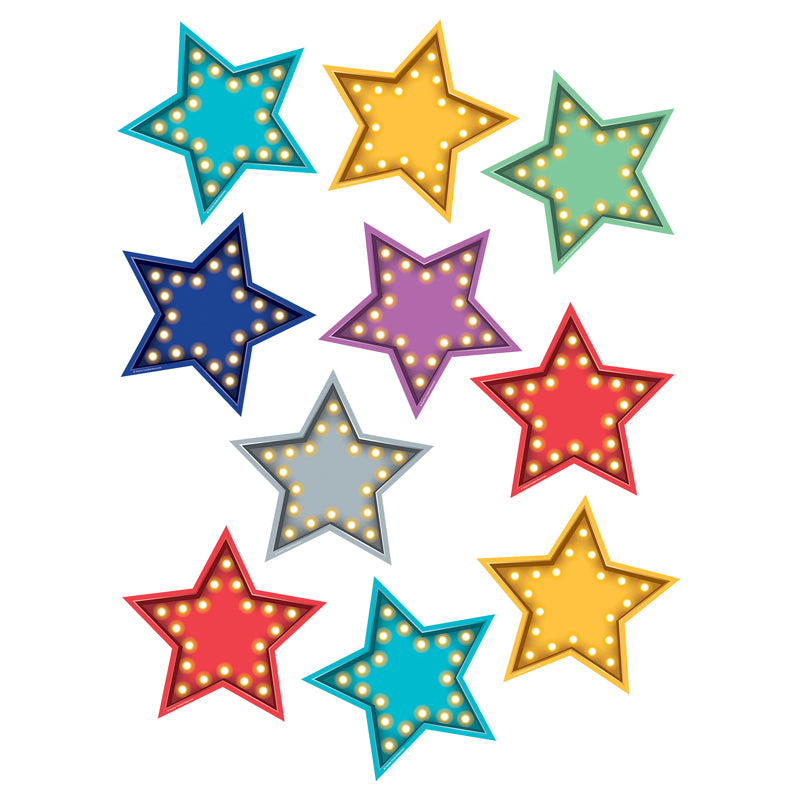Marquee Stars Accents, 30 Per Pack, 3 Packs - Item 4SS-TCR5870BN
