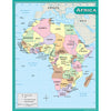 Africa Map Chart - Item 4SS-TCR7650