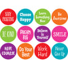 "Spot On Positive Sayings Carpet Markers, 4"" - Item 4SS-TCR77006"