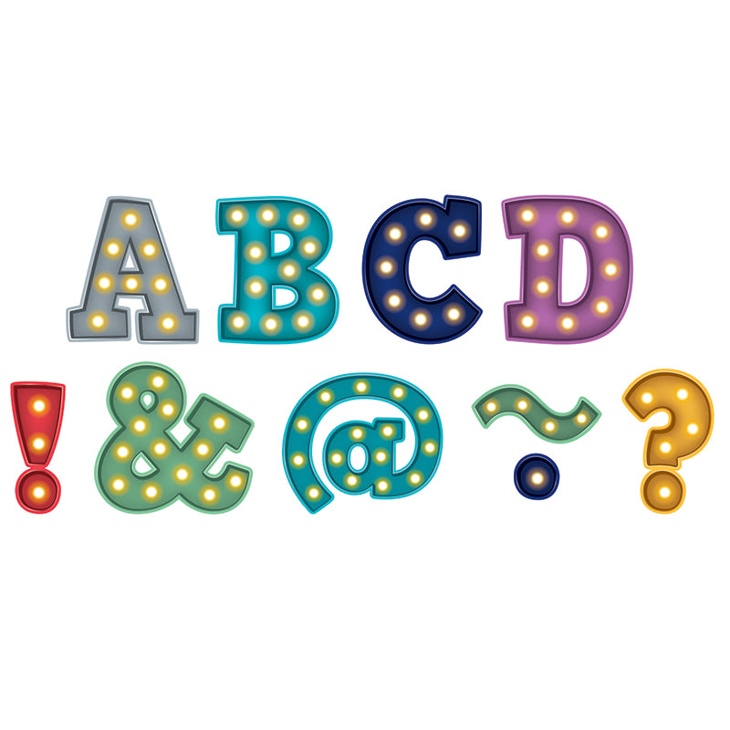 "Marquee Bold Block 2"" Magnetic Letters - Item 4SS-TCR77300"