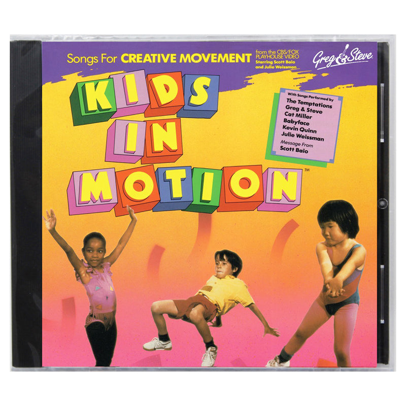 Greg & Steve: Kids In Motion Cd - Item 4SS-YM-008CD