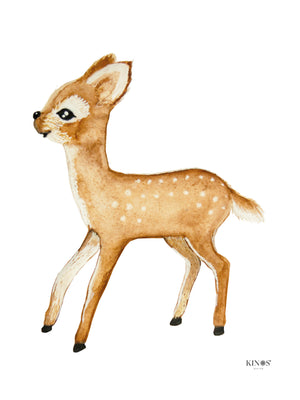 Kid's room Bambi poster by Kinos Design made in Finland
