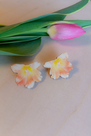Summertime Tiny Earrings by Kinos Design's Season's Gems Collection