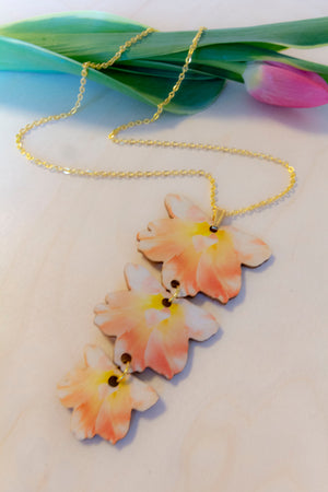 Summertime Necklace Trio by Kinos Design's Season's Gems Collection