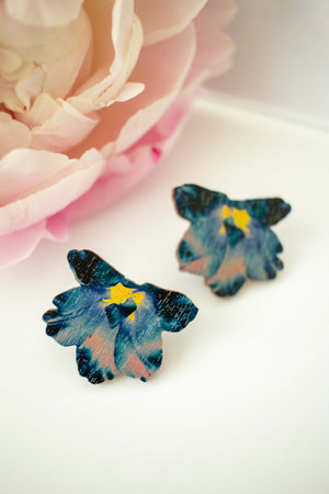 Summertime Ear Studs by Kinos Design's Season's Gems Collection